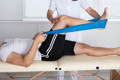 Picture physiotherapy treatment